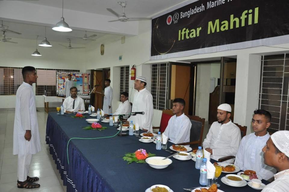IFTAR Mahfil & Holy QURAN distribution among the Senior Cadets, 2018
