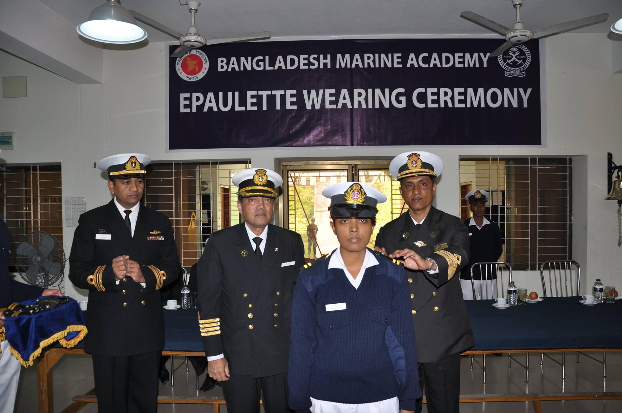 'Senior Cadet' Epaulette Wearing Ceremony – 54th Batch