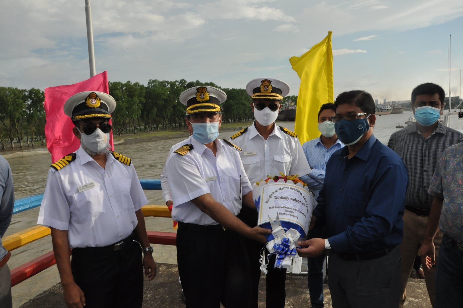 Mr. Mohammad Mezbah Uddin Chowdhury, Secretary, Ministry of Shipping stepped into BMA for the First Time!