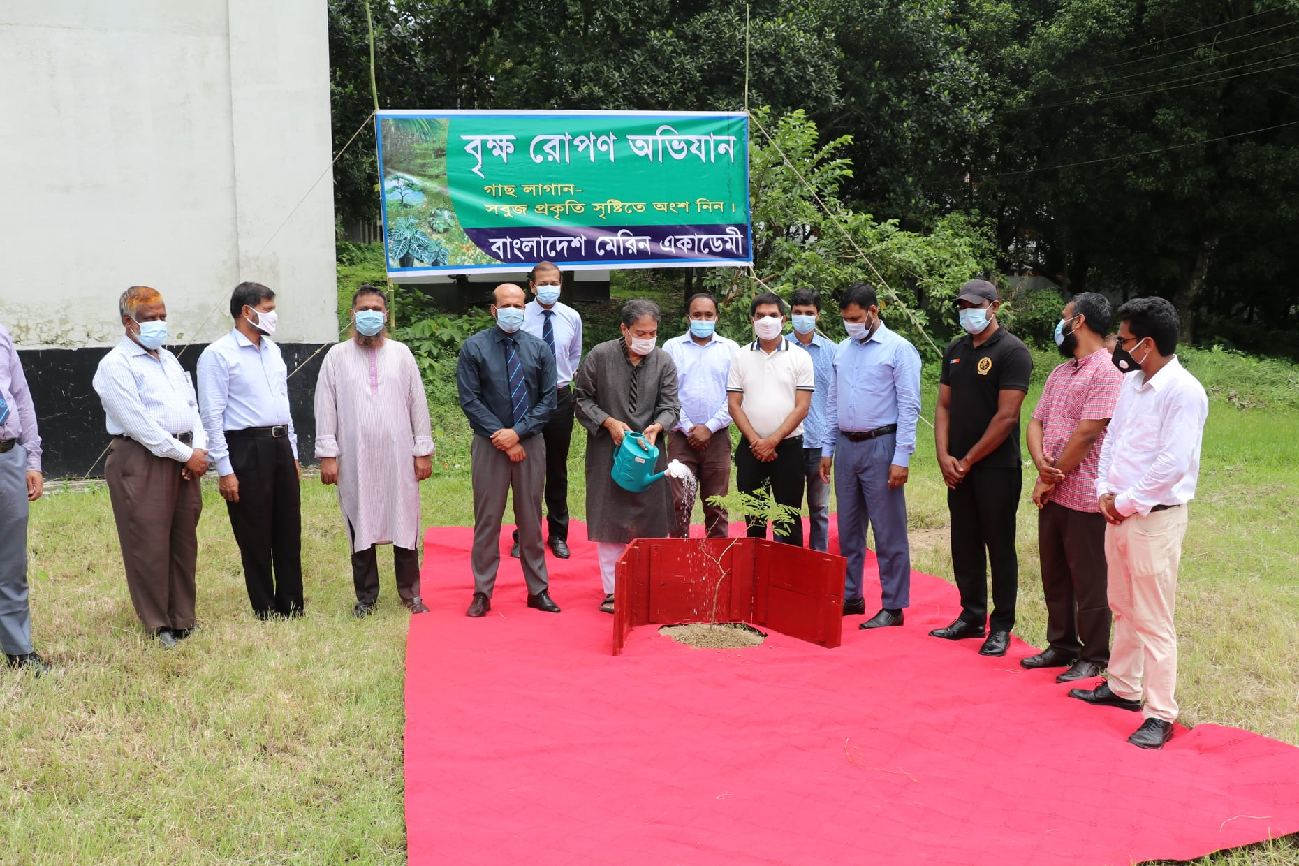 Tree Plantation on 15 August at BMA